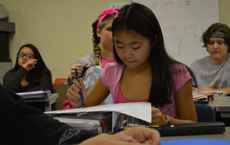 Eighth-grade student cultivates interest in high school math