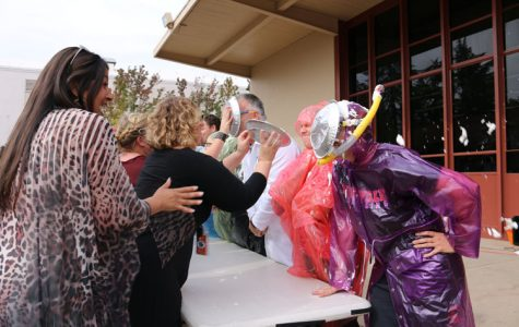 PHOTO: AVID 11 puts on 'pie in the face' fundraiser