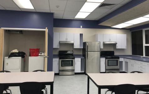 Living Skills room makes debut in 400 wing