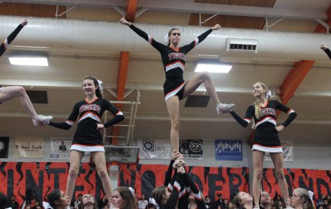 Girls stunt cheer set to debut this spring