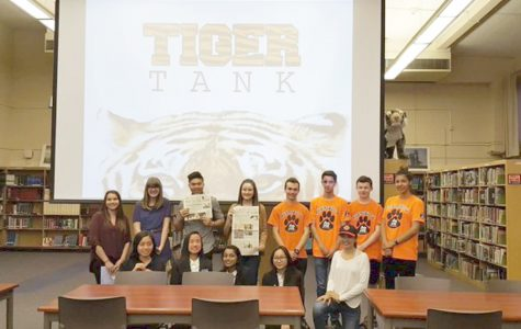 "AVID and Robotix club receive money in first ""Tiger Tank"""