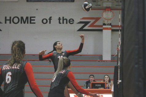 VOLLEYBALL: Tigers take down undefeated Whitney Wildcats