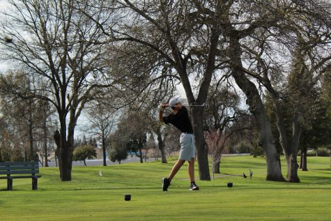 Freshman stands out on varsity golf