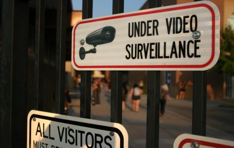 Security cameras installed on campus