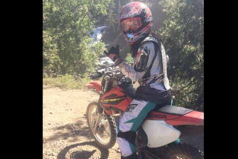Junior finds confidence in motocross