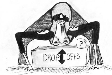 Drop-off table risks personal, school security