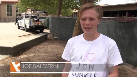 """Students celebrate """"National Jon Kunkle Day"""""""