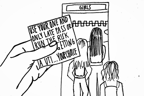 DEL VALLE TONOIAN: Bathroom passes defile student dignity