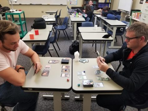 Students, teacher continue to game on