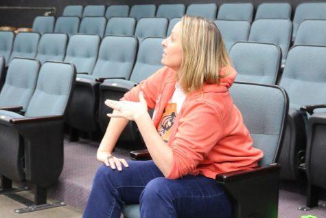Drama teacher acts on experience