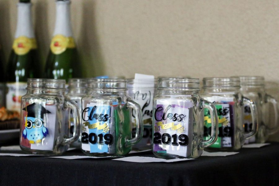 A+mason+jar+filled+with+notes+from+their+peers+was+given+to+each+senior+that+attended+senior+night.
