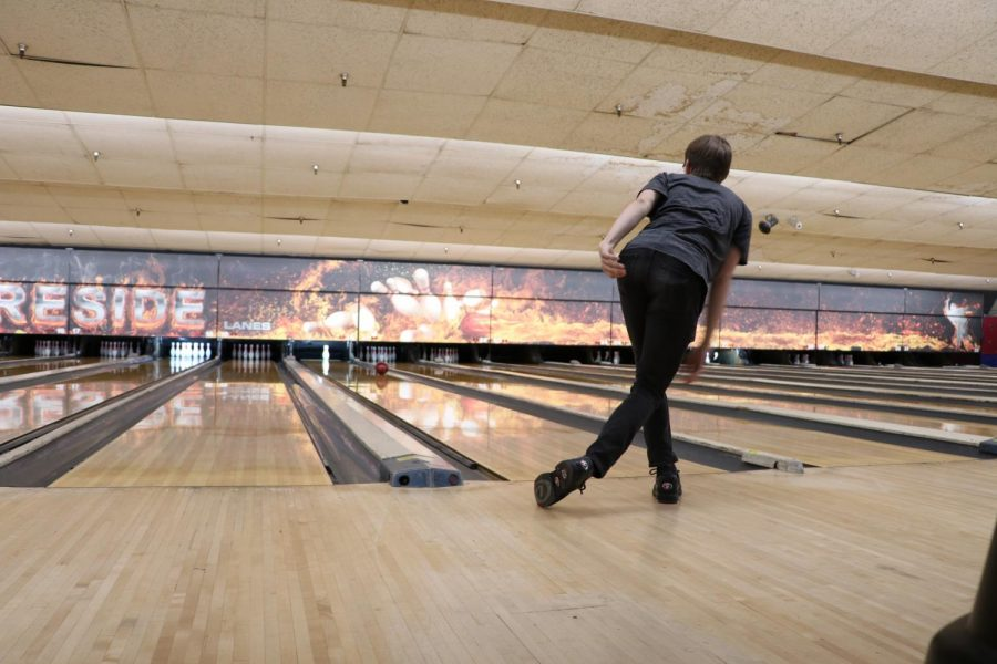 Senior Colin Allen has been bowling since he was eight and has participated in numerous tournaments, leagues and clubs since then.