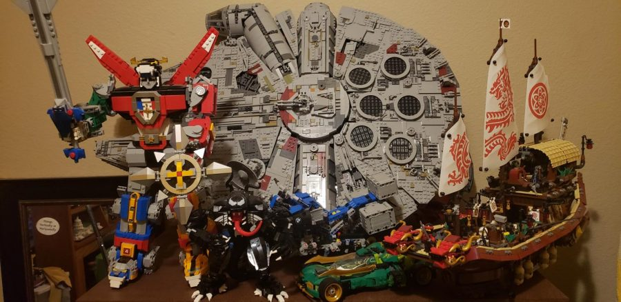 Senior builds up LEGO collection